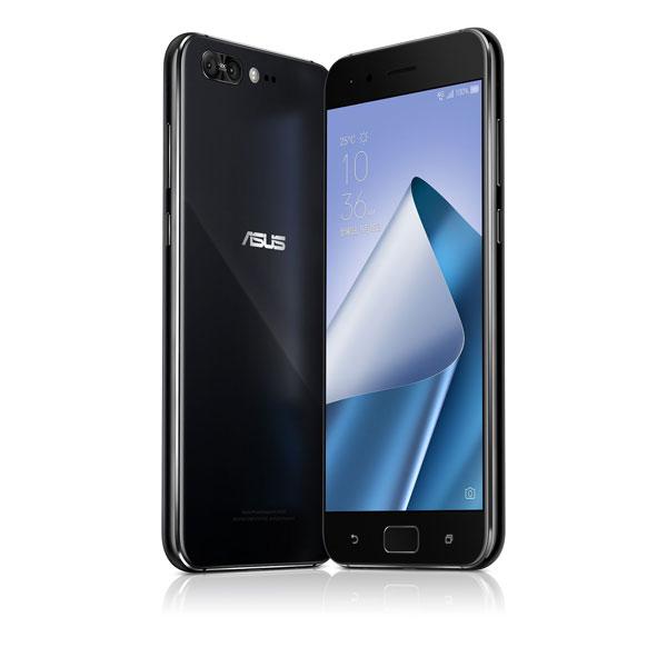 ASUS ZenFone 4 Pro series ピュアブラック( Qualcomm Snapdragon 835 / メモリー6G / ストレージ128G / 指紋センサー ) ZS551KL-BK128S6