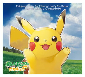 Nintendo Switch ポケモン Let's Go! ピカチュウ・Let's Go! イーブイスーパーミュージック・コンプリート [ (ゲーム・ミュージック) ]
