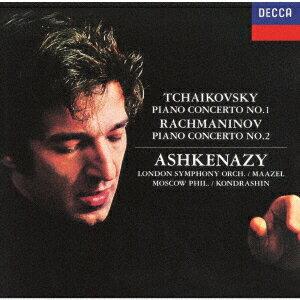 チャイコフスキー:ピアノ協奏曲第1番 ラフマニノフ:ピアノ協奏曲第2番 [ ヴラディーミル・アシュケナージ ]
