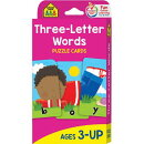 PUZZLE CARDS:THREE LETTER WORDS