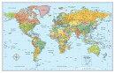 Signature World Folded Wall Map: Mwrf