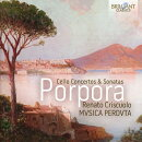 【輸入盤】チェロ協奏曲集、チェロ・ソナタ集 レナート・クリスクオロ、ムジカ・ペルドゥタ(2CD)