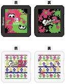 【任天堂ライセンス商品】キャラクターカードケース12 for ニンテンドーSWITCH『スプラトゥーン2(ブラック)』