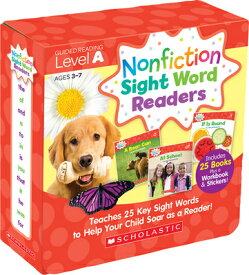 Nonfiction Sight Word Readers Parent Pack Level a: Teaches 25 Key Sight Words to Help Your Child Soa NONFICTION SIGHT WORD READERS [ Liza Charlesworth ]