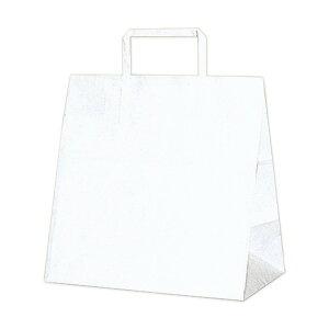 ヘイコー 手提 紙袋 平手紐 H25CB E シロ 26×16×26cm 50枚 3274000 手提袋 (文具(Stationary))