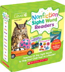 Nonfiction Sight Word Readers Parent Pack Level C: Teaches 25 Key Sight Words to Help Your Child Soa