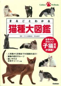 まるごとわかる猫種大図鑑 世界中のかわいい子猫写真が満載! (Gakken Pet Books) [ 早田由貴子 ]