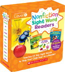 Nonfiction Sight Word Readers Parent Pack Level D: Teaches 25 Key Sight Words to Help Your Child Soa
