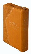 NI55DCZTI橙 聖書 新共同訳 旧約聖書続編つき ジッパー・サムインデックスつき