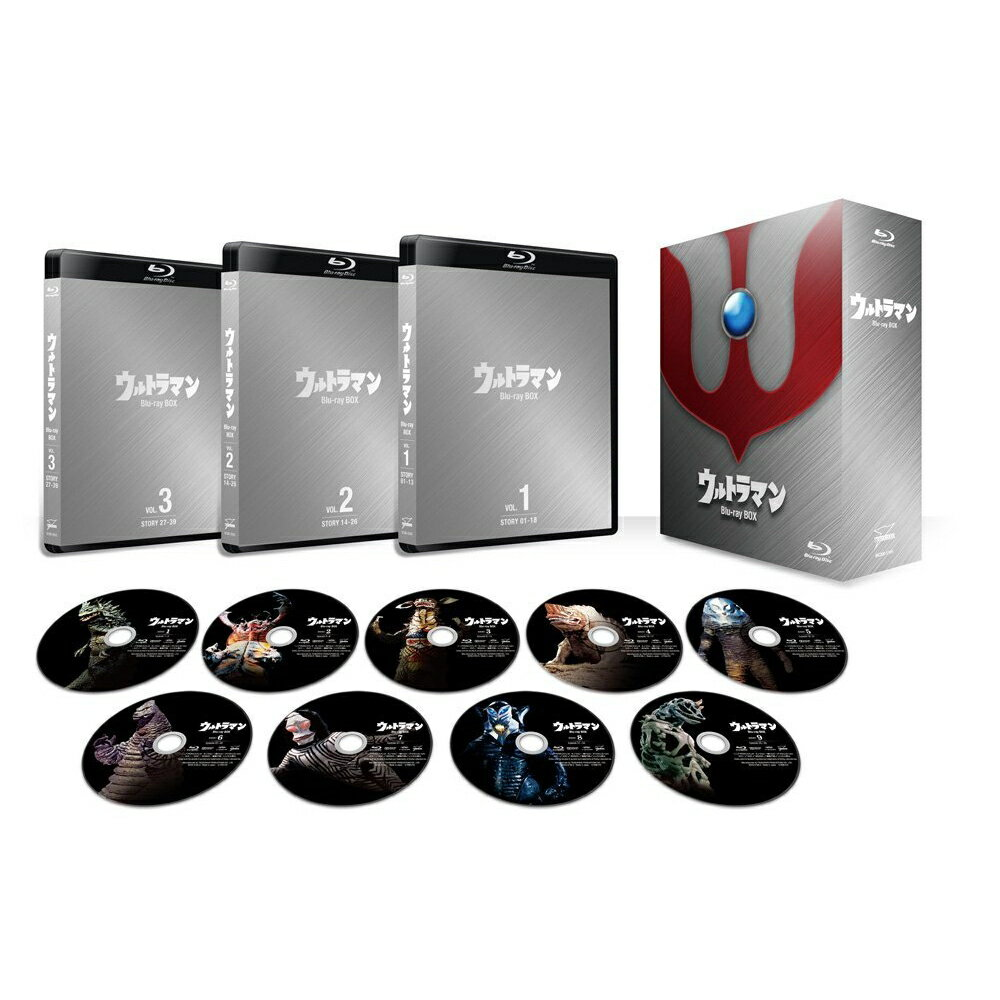 ウルトラマン Blu-ray BOX Standard Edition【Blu-ray】 [ 小林昭二 ]