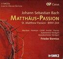 【輸入盤】マタイ受難曲 ベルニウス&シュトゥットガルト・バロック・オーケストラ、シュトゥットガルト室内合唱団…