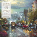 Thomas Kinkade Lightposts for Living 2018 Wall Calendar