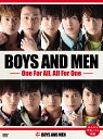 BOYS AND MEN 〜One For All, All For One〜(初回限定盤) [ BOYS AND MEN ]