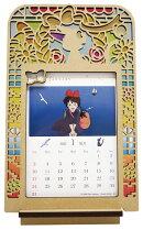 魔女の宅急便ステンドフレームカレンダー(2021年1月始まりカレンダー)