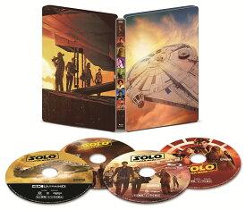 ハン・ソロ/スター・ウォーズ・ストーリー 4K UHD MovieNEX スチールブック(数量限定)【4K ULTRA HD】 [ オールデン・エアエンライク ]