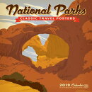 Cal 2019 National Parks Classic Posters