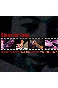 【輸入盤】BluesForTony[AllanHoldsworth/AlanPasqua/JimmyHaslip/ChadWackerman]