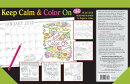 Keep Calm & Color on 2018 Desk Calendar