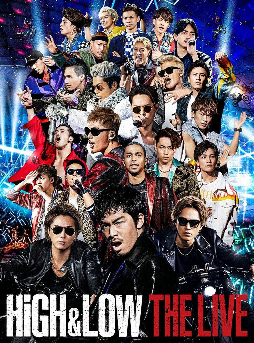 HiGH & LOW THE LIVE 豪華盤 DVD3枚組(スマプラ対応) [ (V.A.) ]