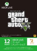 Xbox Live 12ヶ月+2ヶ月ゴールドメンバーシップ GTA V エディション