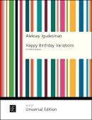 【輸入楽譜】イグデスマン, Aleksey: バイオリンとピアノのための「ハッピー・バースデー変奏曲」