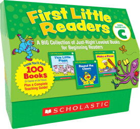 First Little Readers: Guided Reading Level C: A Big Collection of Just-Right Leveled Books for Begin BOXED-1ST LITTLE READERS GUIDE [ Liza Charlesworth ]