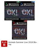 """【3巻同時購入特典】【セット組】Animelo Summer Live 2018 """"OK!"""" 08.24 & 08.25 & 08.26(3巻収納OKケース付き)…"""