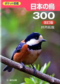 日本の鳥300改訂版 ポケット図鑑 [ 叶内拓哉 ]
