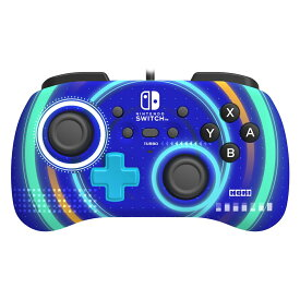 ホリパッドミニ for Nintendo Switch サイクロンブルー
