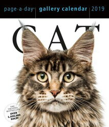 CAT GALLERY CALENDAR 2019(PAGE-A-DAY)