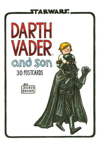 DARTHVADERANDSON:30POSTCARDS[JEFFREYBROWN]
