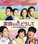 家族なのにどうして〜ボクらの恋日記〜 BOX5 <コンプリート・シンプルDVD-BOX>