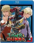 TIGER & BUNNY(タイガー&バニー) 4【Blu-ray】