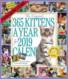 365 KITTENS-A-YEAR WALL CALENDAR [ WORKMAN PUBLISHING ]