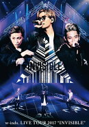 "w-inds. LIVE TOUR 2017 ""INVISIBLE"" 通常盤DVD"