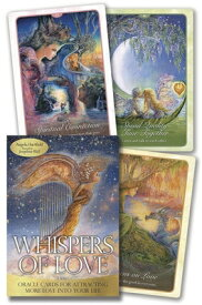WHISPERS OF LOVE ORACLE: ORACLE CARDS FO [ ANGELA HARTFIELD ]