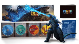 【先着特典】ゴジラ キング・オブ・モンスターズ 完全数量限定生産4枚組 S.H.MonsterArts GODZILLA[2019] Poster Color Ver. 同梱(A4クリアファイル付き)【4K ULTRA HD】 [ カイル・チャンドラー ]