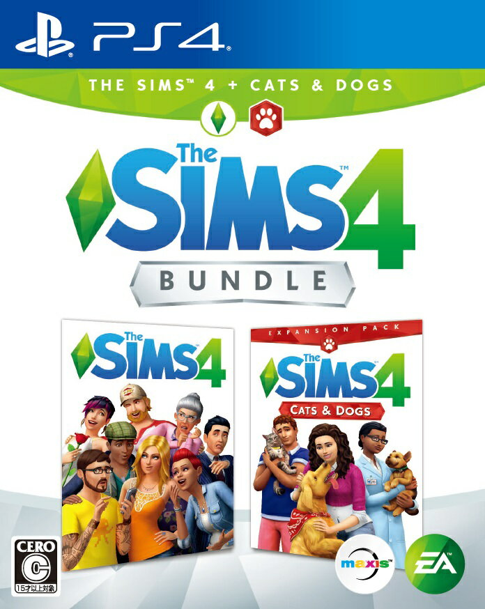 The Sims 4 Cats & Dogsバンドル