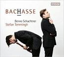 【輸入盤】『BACHASSE〜バッハ、ハッセ作品集』 シュテファン・テミング(リコーダー)、ベンノ・シャフトナー(カウ…