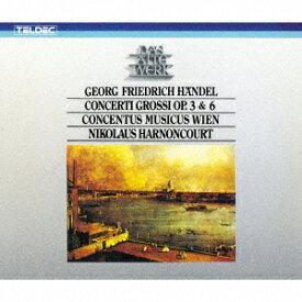 ヘンデル:合奏協奏曲作品3&6(全曲) [ ニコラウス・アーノンクール ]