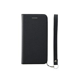 iPhone XS/X FlipNote Slim クラリーノ ケース シュリンクBK
