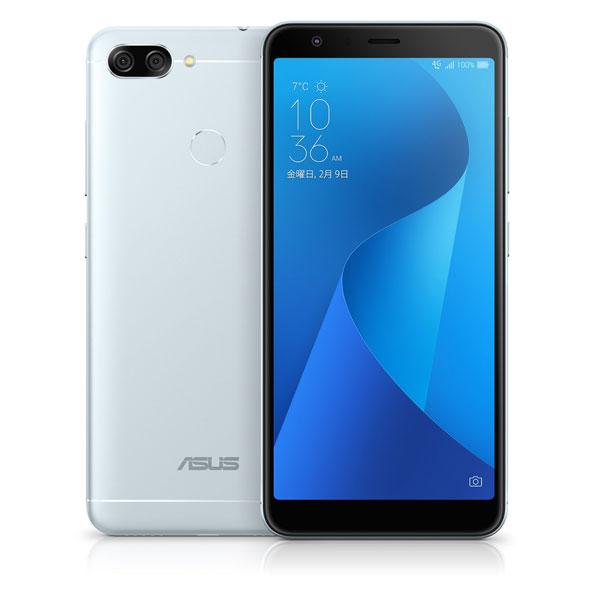 ZenFone Max Plus (M1) (MediaTek MT6750T / メモリ4GB / ストレージ32GB) アズールシルバー