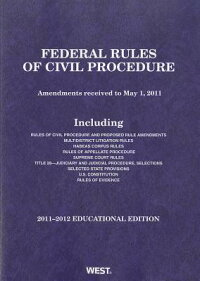 FederalRulesofCivilProcedure,2011-2012EducationalEdition