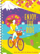 Bike Art 2017-18 On-The-Go Weekly Planner: Enjoy the Ride