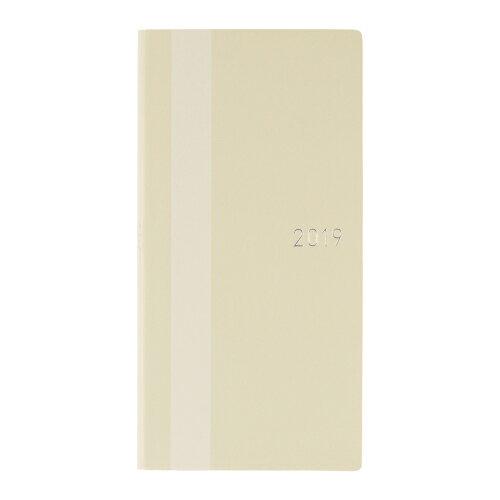 ほぼ日手帳WEEKS ホワイトライン/アイボリー(2019年1月はじまり)