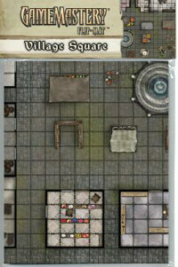 GamemasteryFlip-Mat:VillageSquare