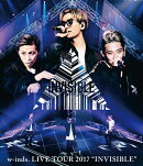 "w-inds. LIVE TOUR 2017 ""INVISIBLE"" 通常盤Blu-ray【Blu-ray】"