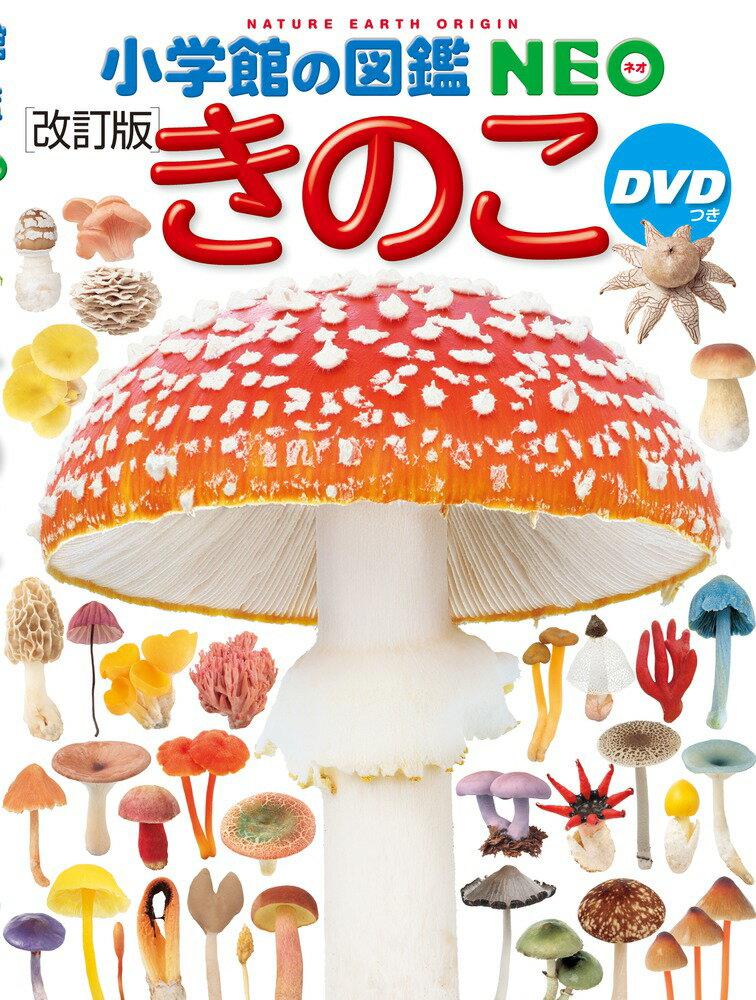 小学館の図鑑NEO きのこ DVDつき[改訂版] (小学館の図鑑 NEO) [ 保坂 健太郎 ]