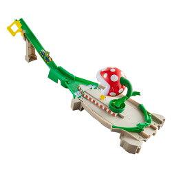 ホットウィール(Hot Wheels) マリオカート パックンフラワー トラックセット GFY47