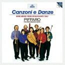 ≪カンツォーナと舞曲≫ イタリア・ルネッサンスの管楽合奏曲